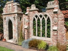 Bespoke Folly Designs – Folly & Garden – Redwood Stone