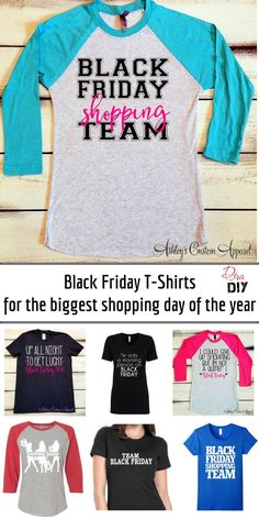 Black Friday T-Shirts For The Entire Family Black Friday is the start to Christmas gift shopping! Dress your Family and Friends in the same t-shirt so you can see each other! Black Friday Funny, Black Friday Shirts, Friday T Shirt, Friday Outfit, Best Black Friday, Black Friday Deals, T Shirt Diy, Shirt Shop, Kids Christmas Outfits