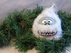 Christmas Ornament ; Yeti / Abominable Snowman Ornament