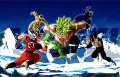 Broly Vs Z Fighters by Akaggi Dragon Ball Gt, Goku And Vegeta, Dbz, Broly Super Saiyan, Hero Fighter, Broly Movie, Ssj3, Geek Stuff, Deviantart