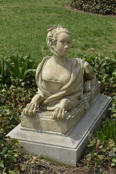 Sphinx at Hillwood -- A Tale of Two Garden Sphinxes