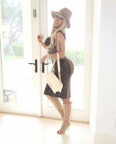 Nicki Minaj style. Alexander Mcqueen
