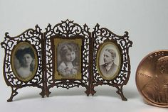 Family Portrait Frame Dollhouse Miniature Picture Frame Kits [LB150] - $10.00 : Cynthia Howe Miniatures!, Your premier source for Dollhouse Miniatures, Miniature Classes, Miniature Dolls and Molds, Kits and Free Tutorials.