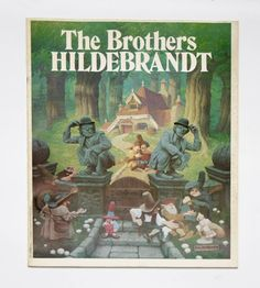 """Fantasy Art Book """"The Brothers Hildebrandt"""" Signed Limited Edition book 1978, Star Wars, Hobbit, LOTR, Gallery Exhibition Program, Softcover by HudsonPulpAndRockets on Etsy"""