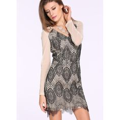 French Kiss All-over Lace Mini Dress Mini dress in nude and all over lace. This dress is absolutely stunning! Brand new without tags. Absolutely no trades. Bare Anthology Dresses Mini