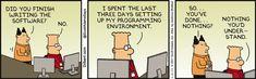 Programming Environment - Dilbert Comic Strip on 2017-01-02 | Dilbert by Scott Adams