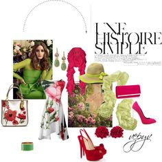 """Garden"" by azaviki on Polyvore"