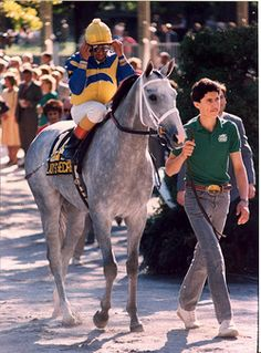Lady's Secret - 1986 American Horse of the Year and daughter of Secretariat