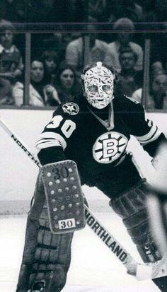 Gerry Cheevers. Hockey Goalie, Hockey Players, Ice Hockey, Nhl, Steve Yzerman, Hockey Rules, Boston Bruins Hockey, Goalie Mask, St Louis Blues
