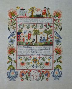 wisdom sampler vermillion stitchery - Google Search