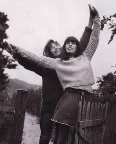 Jane Birkin and Lou Doillon