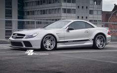 Prior Design Black Edition Widebody Conversion Aero Kit for Mercedes Benz SL Series R230 | Flickr - Photo Sharing!
