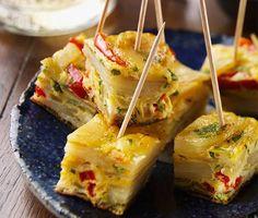 Frittata-Häppchen: Rezept aus der Landküche von for me   rezepte   formeonline