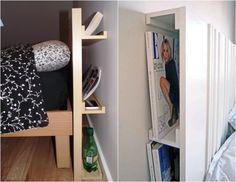IKEA Bilderleiste Ribba diy-idee-hinter-bett-kopfteil-versteckt