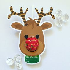These pack of 10 reindeer lollipop holders from Queensland's Glitter and Glue Designs would make fantastic gifts for little school friends.