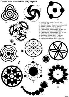 Touraine Insolite :: Evolution des crop circles de 1980 à 2007.