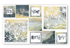 Beautiful Brand New Fresh Cuts Dies coming up! Barbara Gray Blog, Fresh Cuts, Marine Life, Die Cutting, Clarity, Card Ideas, Card Making, Gallery Wall, Birds