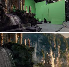 O Hobbit: Uma Jornada Inesperada ***** A magia do cinema: 40 imagens de filmes e séries antes e depois dos efeitos especiais - Slideshow - AdoroCinema