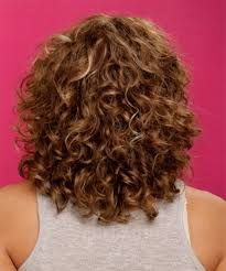 medium length permed hairstyles - Google Search