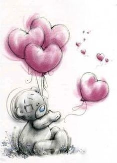 I love you, Christopher Robinz ❤️ Tatty Teddy, Teddy Bear Tattoos, Teddy Bear Pictures, Blue Nose Friends, Mickey Mouse Wallpaper, Love Bear, Cute Teddy Bears, Baby Scrapbook, Vintage Christmas