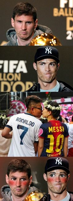 Ronaldo Vs Messi - #Funny