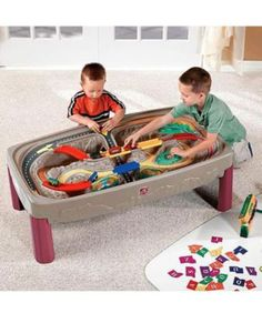 Step 2 Deluxe Canyon Train and Track Table £119.99. This extra large table with built-in, multi-level track provides hours of imaginative and interactive play.