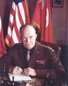 General Eisenhower commander of Allied forces in Europe 31 December 1943.