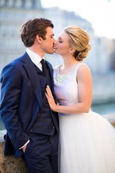 Photography: Le Secret D'Audrey - lesecretdaudrey.com  Read More: http://www.stylemepretty.com/destination-weddings/2014/11/10/springtime-in-paris-elopement/