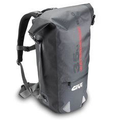 Italian brand Givi are specialists in motorcycle accessories, their range of waterproof soft bags feature an Italian design and strong technological materials, perfect for anyone who tours. They are waterproof, heat sealed TPU, and are characterized Motorcycle Backpacks, Motorcycle Luggage, Motorcycle Outfit, Motorcycle Accessories, Travel Backpack, Backpack Bags, Rear Bike Rack, Motorcycle Saddlebags, Fab Bag