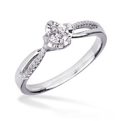 Inel de logodna cu diamant DYGV00087 ‐ Teilor engagement ring