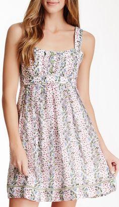 Jessica Simpson Ruffle Front Tank Dress