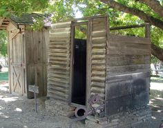 Gillman Ranch, Outhouse & Shower 5-2012 | Flickr - Photo Sharing!