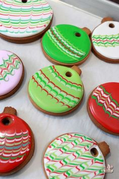 Christmas Cookie Ornaments How To