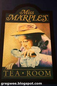 Miss Marple's Tea Room!