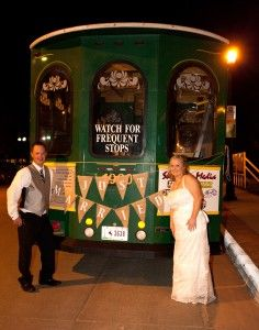 Your Chariot Awaits! Wedding Day Transportation Tips - Read about it on the Wyoming Bride blog
