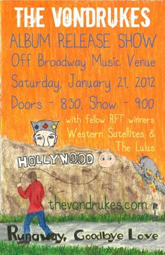 The Vondrukes @ Off Broadway 1/21/012