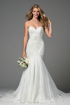 Watters Minerva wedding gown