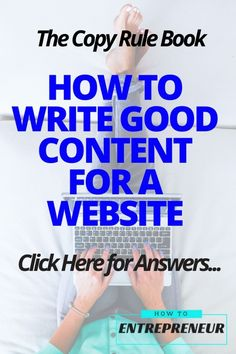 If you're ready to position yourself as a problem-solver in this growing demand of internet users, you NEED to know how to write good content for a website. Check this article out now!