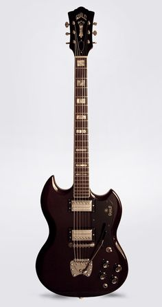 1970 Guild S-100 Deluxe Electric Guitar.