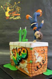 Image result for parkour cake