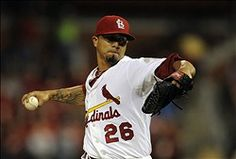 starting pitcher Kyle Lohse 9-18-12
