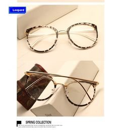 Vintage Decoration Optical Eyeglasses Frame for the myopia metal Spectacles oculos de gra 14