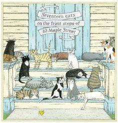 Seventeen Cats - Edward Gorey