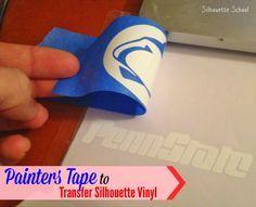 10 Ways Painters Tape Makes Silhouette Crafting Easier ~ Silhouette School