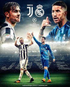 #madbien Juve vs. Real Madrid Who?Quién? . @jruizmandesigns