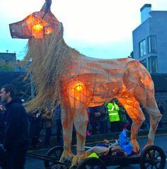 Galway Macnas Parade 2013 Bar Recipes, Shampoo Bar, Samhain, Lanterns, Lion Sculpture, Statue, Songs, Men, Lamps