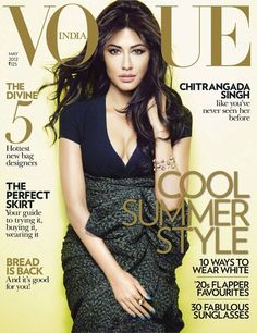 Indian actress Chitrangada Singh for Vogue India May 2012.... love the color and love the simplicity!