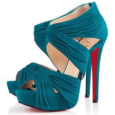 Christian Louboutin Bandra 140mm Ankle Boots Parme