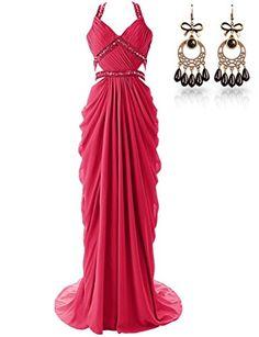 JAEDEN Open Back Beaded Straps Long Sexy Prom Dresses Chiffon Evening Gowns Red US12 JAEDEN http://www.amazon.com/dp/B00SGVJH9K/ref=cm_sw_r_pi_dp_.dSpvb1BDS7W5