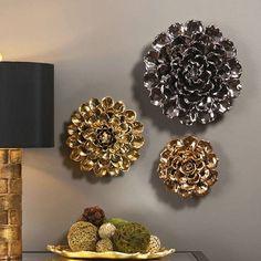 ceramic wall flower - Google Search